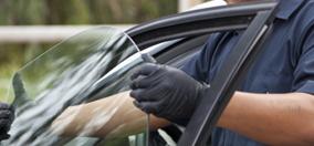 auto door glass replacement