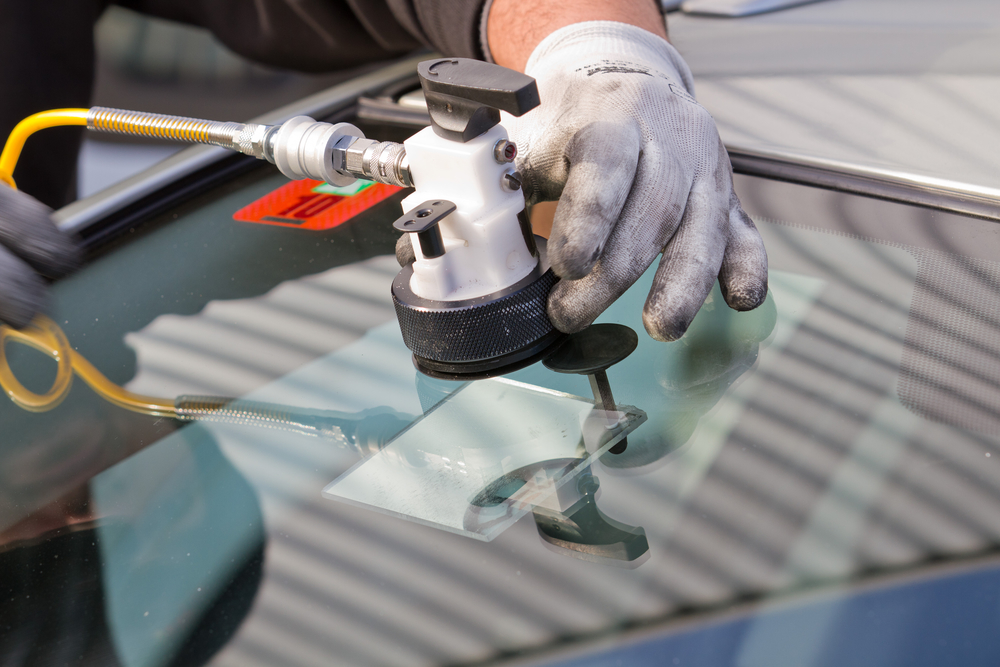 rock chip repair windshield